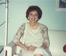 Mildred in Saudi Arabia - 1970's